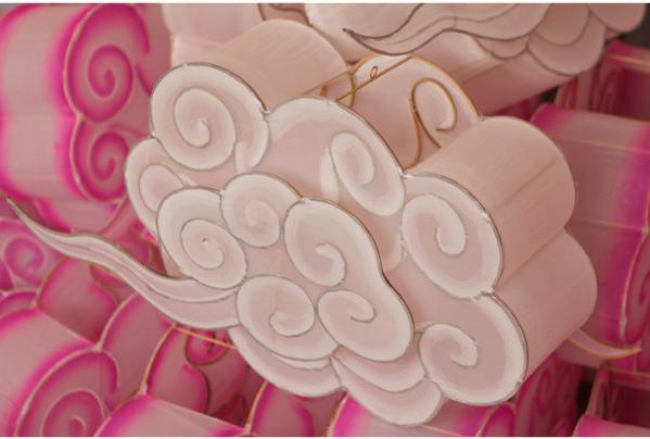 Lampion nuage rose (Petit Pan)